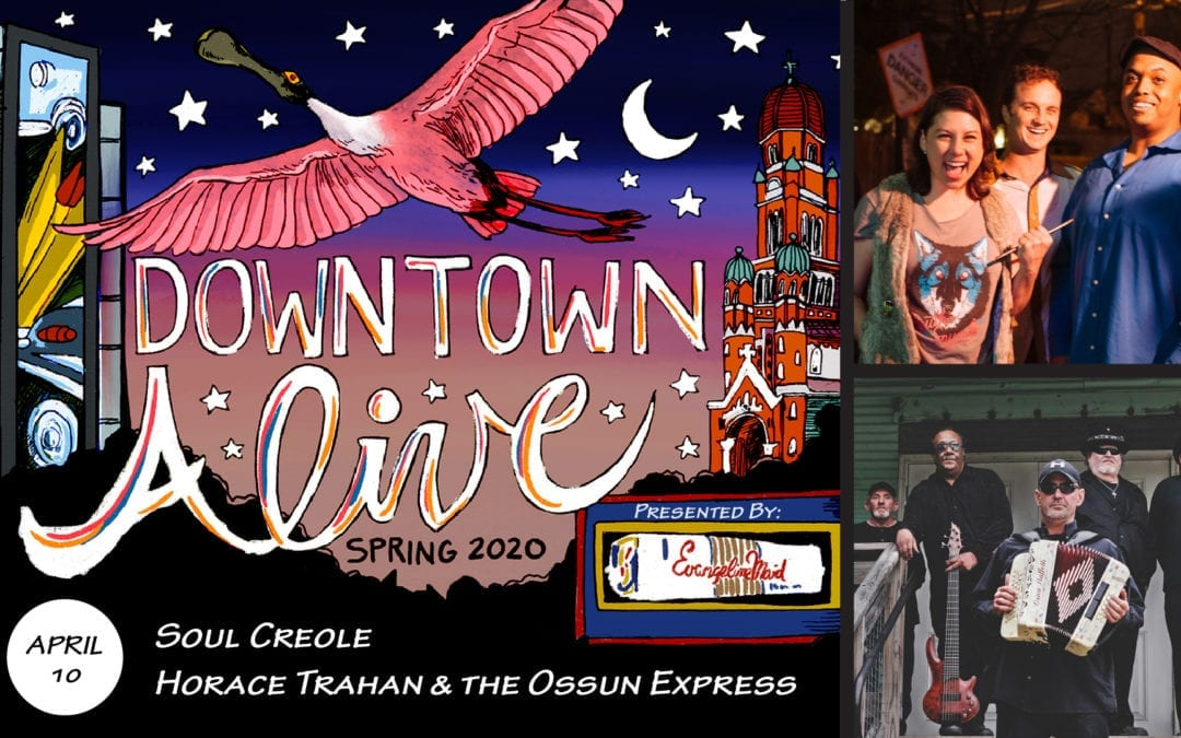 Soul Creole + Horace Trahan & The Ossun Express at DTA!