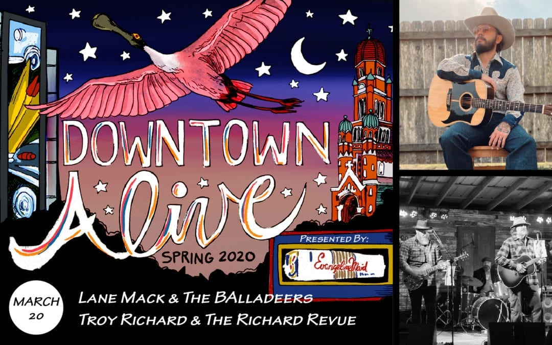 Lane Mack and the Balladeers + The Richard Revue @ DTA!
