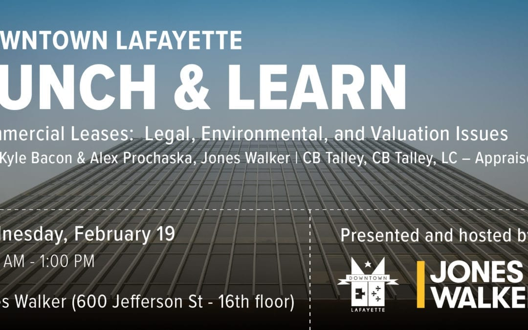 Lunch and Learn: Commercial Leases