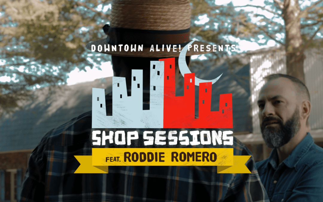 DTA! Shop Sessions: Roddie Romero at C. Wolf Barber & Shop (Ep. 1)