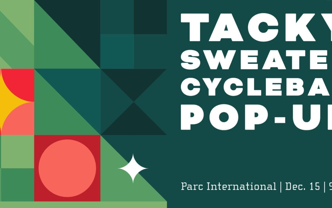 CycleBar Tacky Sweater Pop-Up
