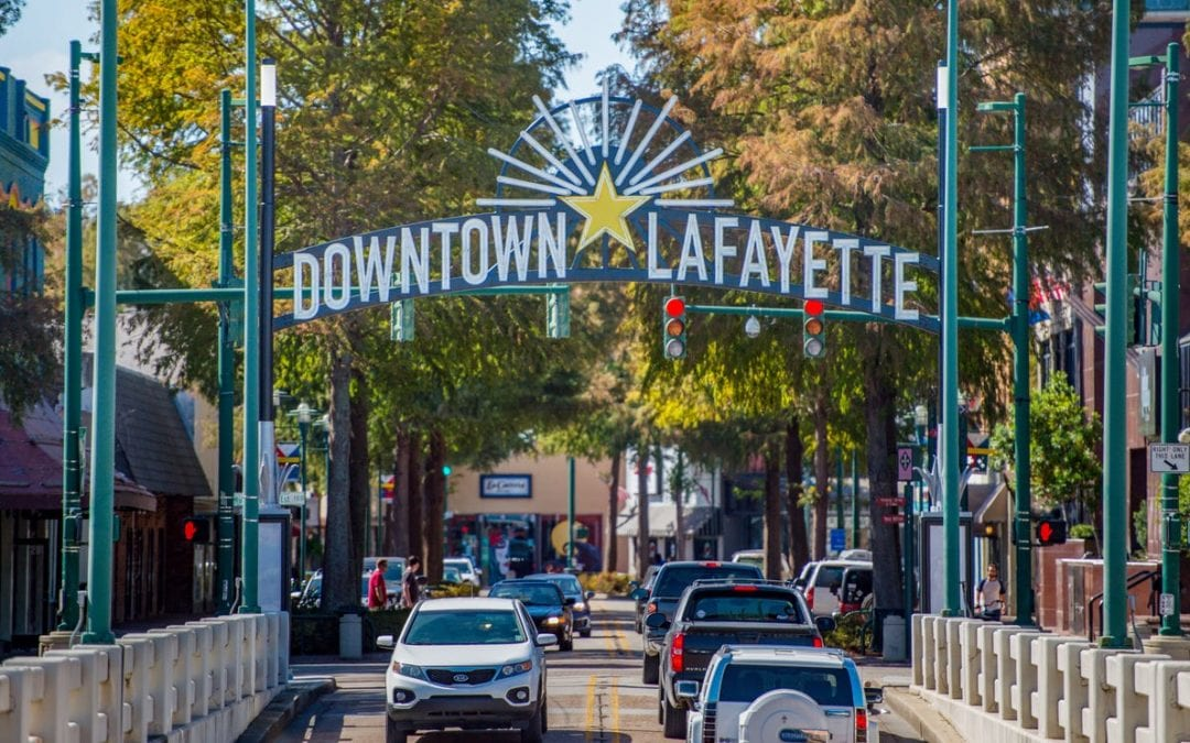 Downtown Lafayette breaks ground on sewage lift station, setting stage for development