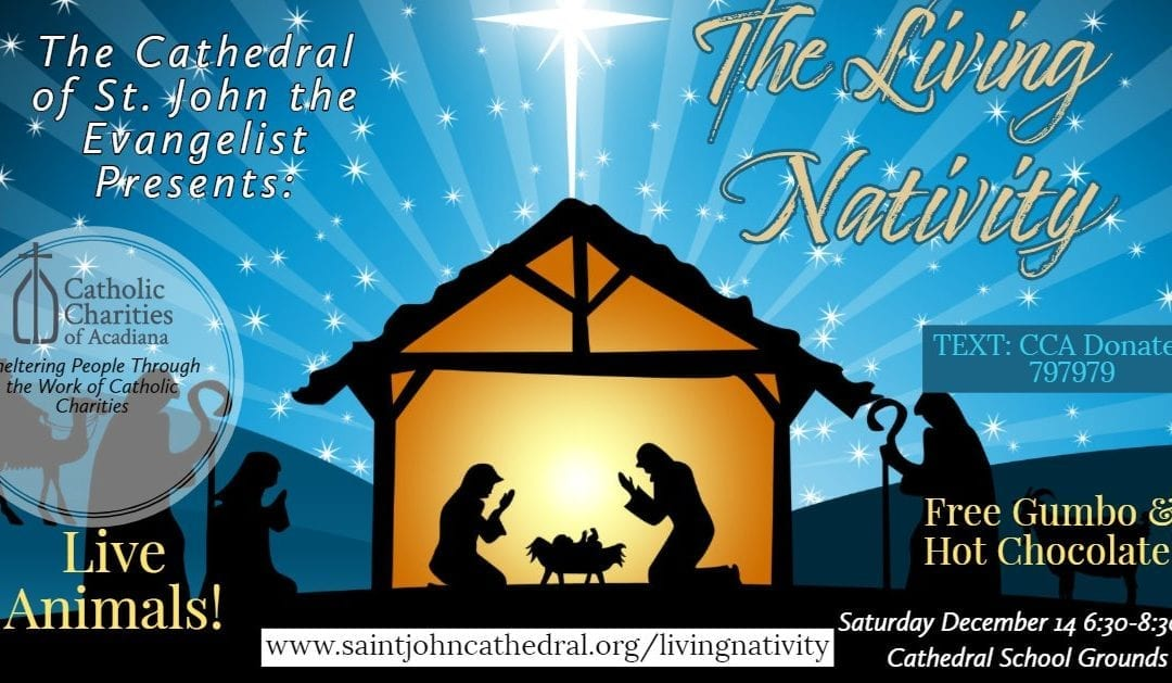 Living Nativity: Sheltering People