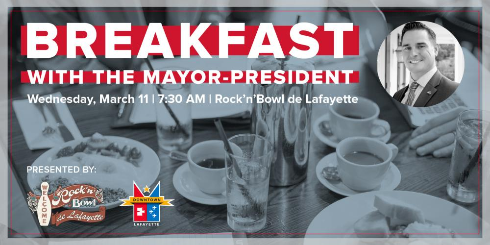 Breakfast with the Mayor-President