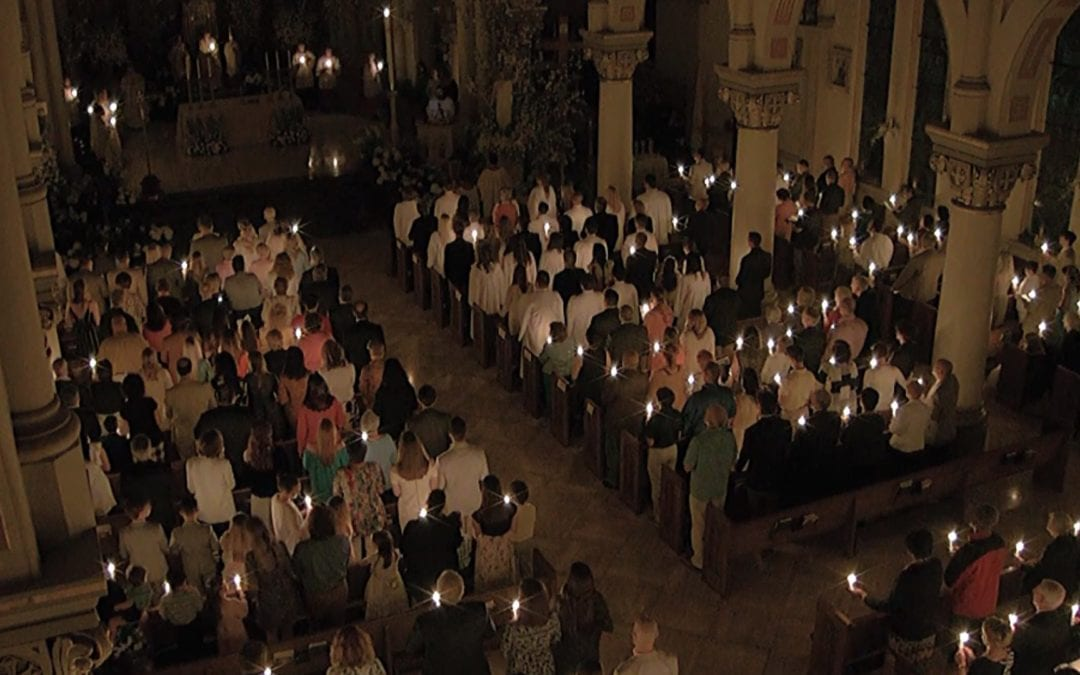 The Solemn Easter Vigil at St. John's Cathedral