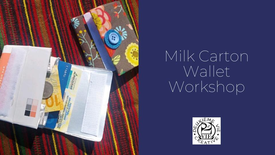 Milk Carton Wallet Workshop